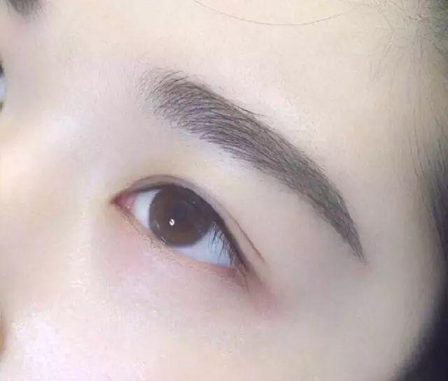 纹眉颜色淡,可以加深吗?